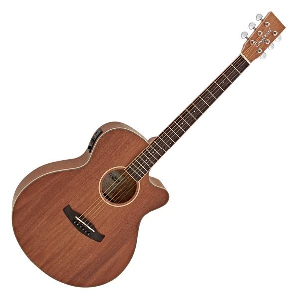 Tanglewood TWUSFCE Union Series Super Folk Electro Acoustic, Mahogany