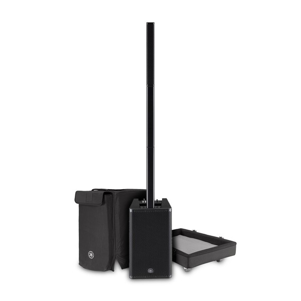 Yamaha Stagepas 1K Column PA System with Transport Dolly