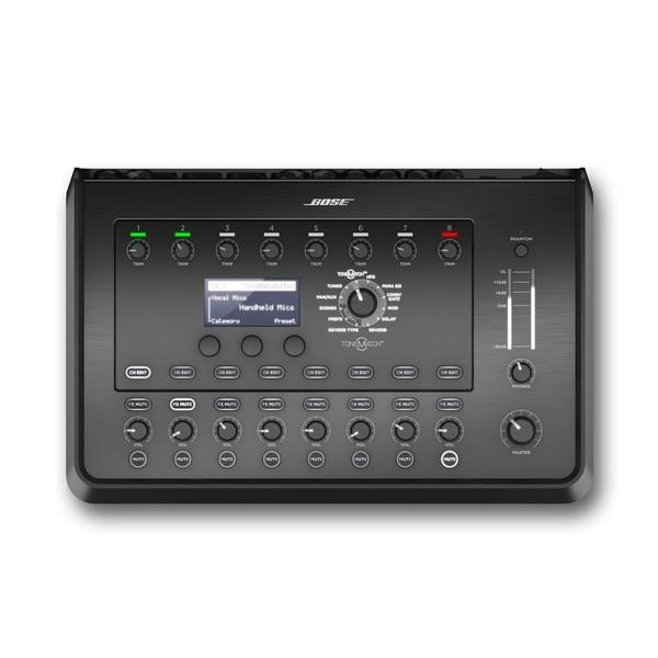 Bose T8S ToneMatch Digital Mixer, Top