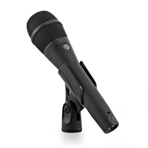 Shure KSM9 Condenser Vocal Microphone, Charcoal Grey mounted