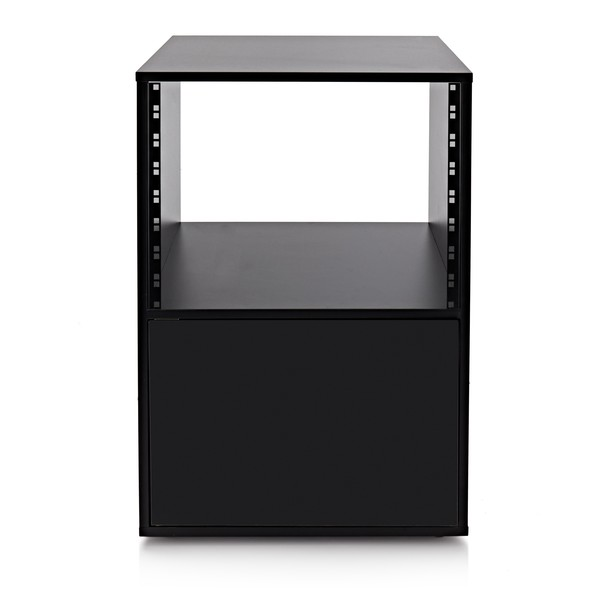 Studio Rack Cabinet by Gear4music, Black