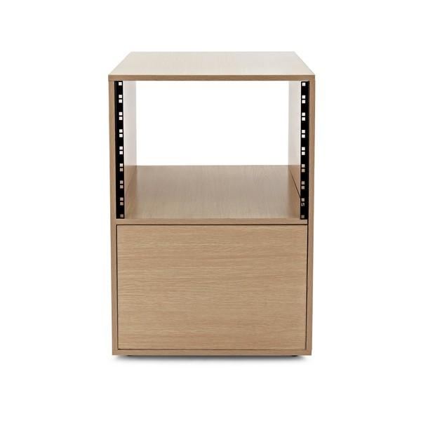 Studio Rack Cabinet by Gear4music, Wood