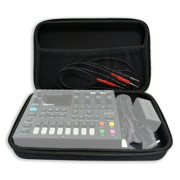Analog Cases PULSE Case for Elektron Digitakt / Roland SP-404 - Front Open (Digitakt, Cables and Power Supply Not Included)