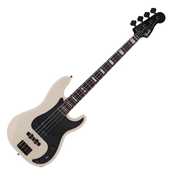 Fender Duff McKagan Deluxe Precision Bass RW, White Pearl