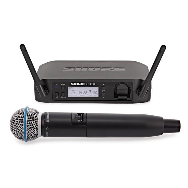 Shure GLXD24/B58 Digital Wireless Microphone System