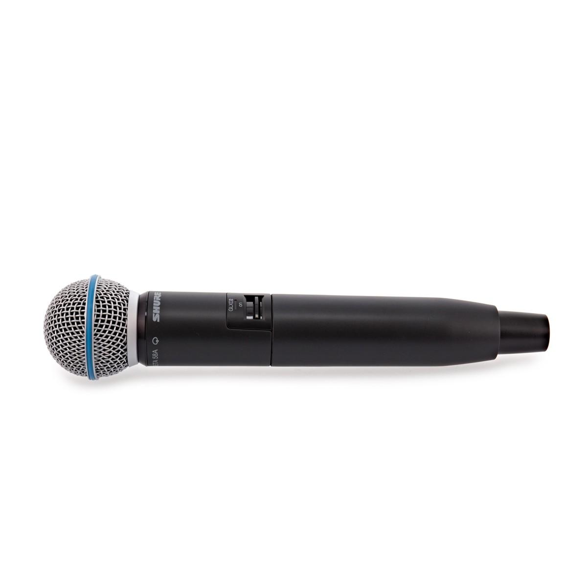 Shure GLXD24 vokal system med Beta58 Trådløse mikrofoner