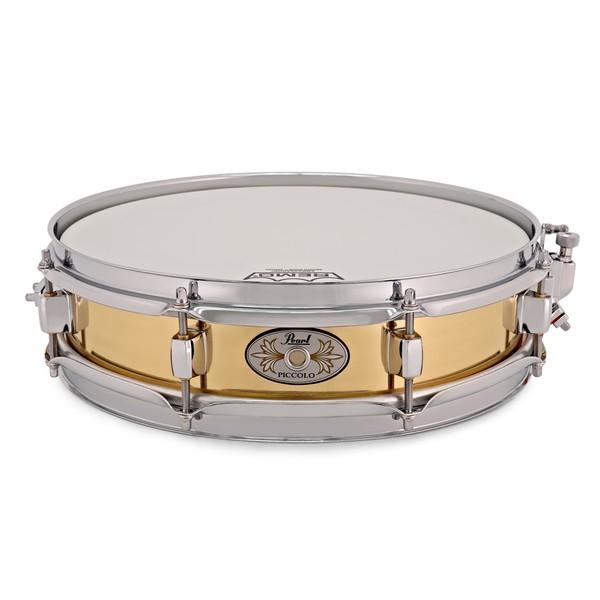Pearl B1330 Brass Piccolo Snare, 13 x 3 main