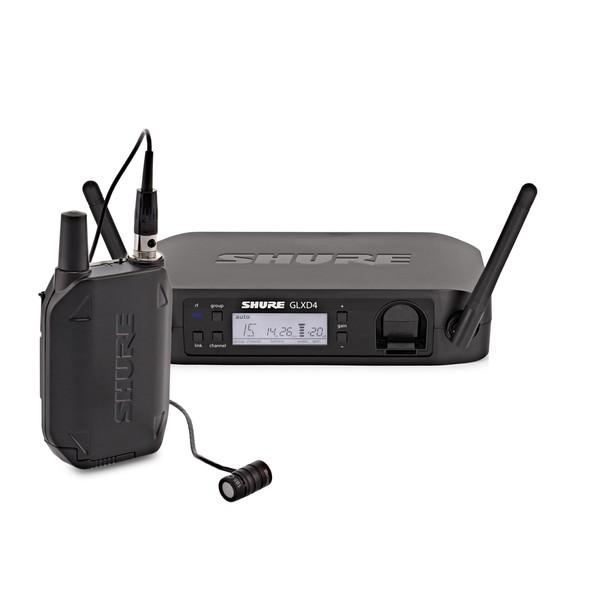Shure GLXD14/85 Digital Wireless Lavalier System with WL185