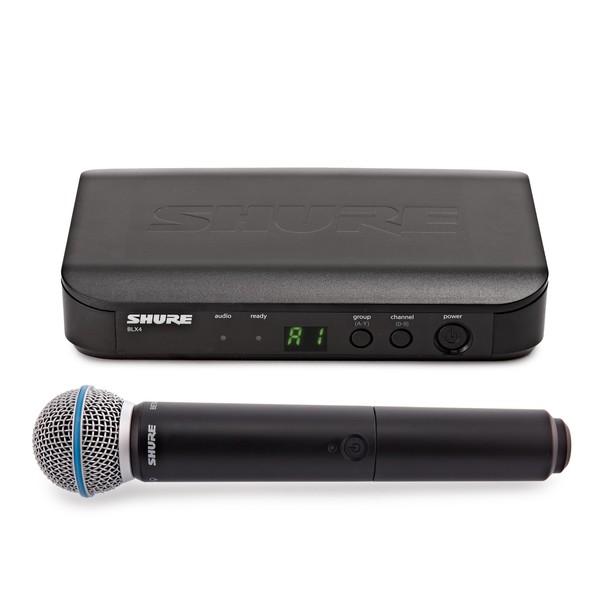Shure BLX24UK/B58-K3E Handheld Wireless Microphone System