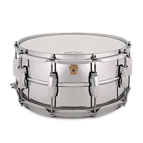 "Ludwig LM402 14"" x 6.5"" Supraphonic Snare Drum, Imperial Lugs main"