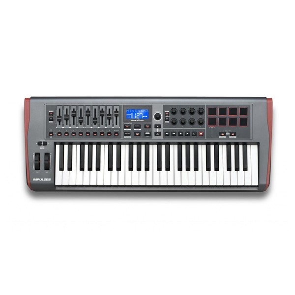 Novation Impulse 49 Key USB MIDI Controller Keyboard - Main