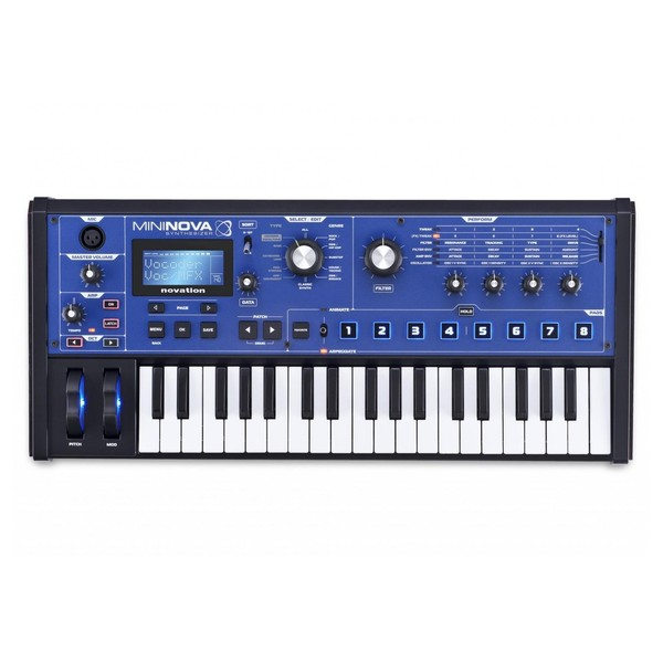 Novation MiniNova Synthesizer - Front