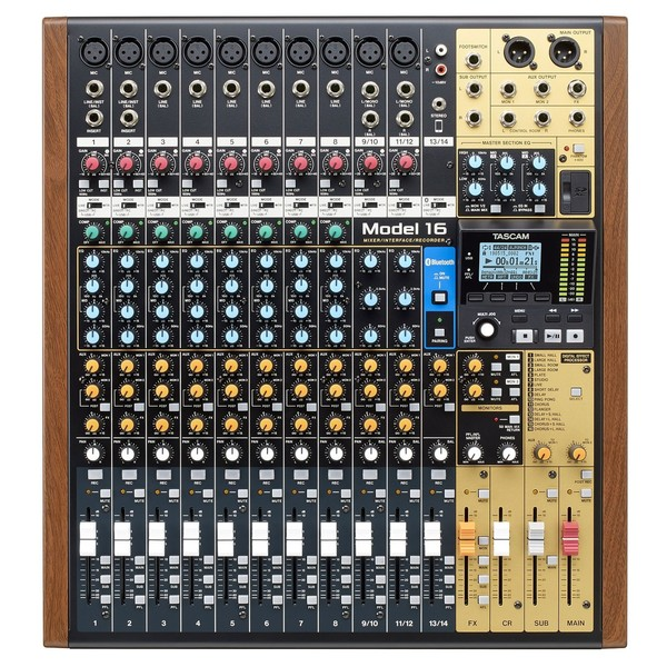 Tascam Model 16 top