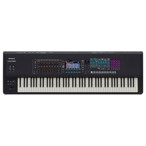 Roland Fantom 8 88-Key Synthesizer Workstation - Top