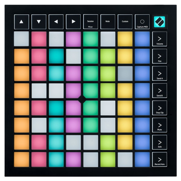 Novation Launchpad X top down