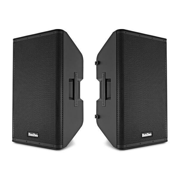 """SubZero 12"""" Active DSP Speaker Pair"""