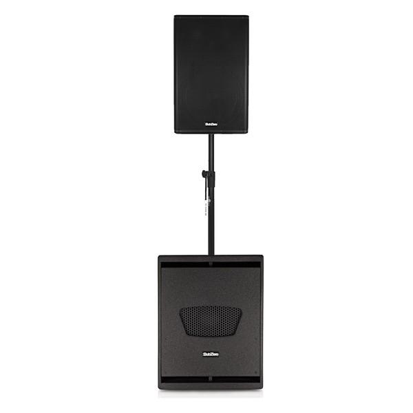 "SubZero 12"" Active DSP Speaker and 15"" DSP Subwoofer"