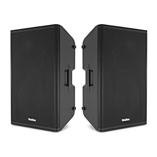 """SubZero 15"""" Active DSP Speaker Pair"""