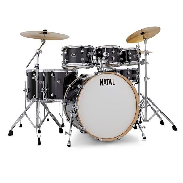 Natal Arcadia UFX 7pc Drum Kit w'Cymbals