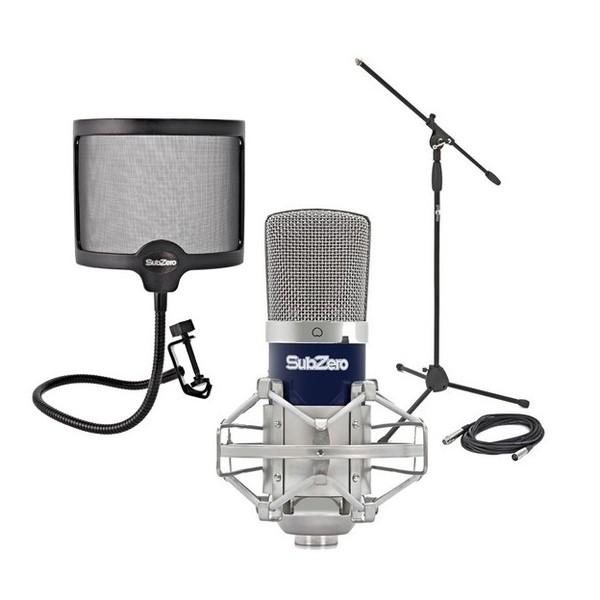 SubZero SZC-400 Condenser Microphone Studio Pack