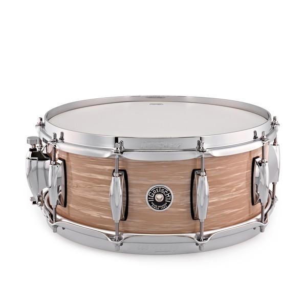 Gretsch Brooklyn 14'' x 5.5'' Snare Drum, Cream Oyster