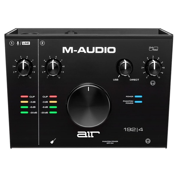 M-Audio AIR 192 top
