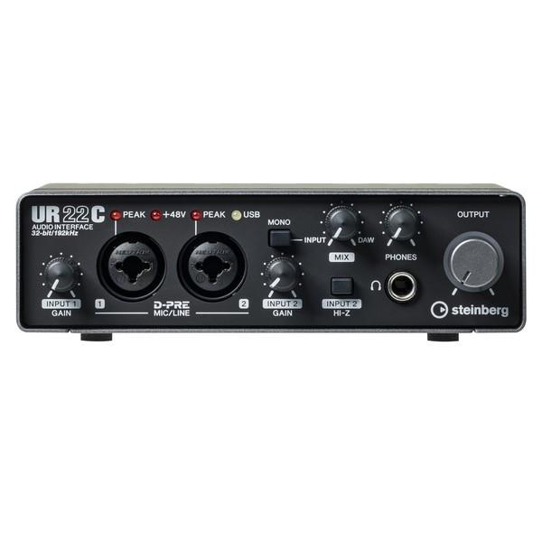 Steinberg UR22C USB 3 Audio Interface - Front