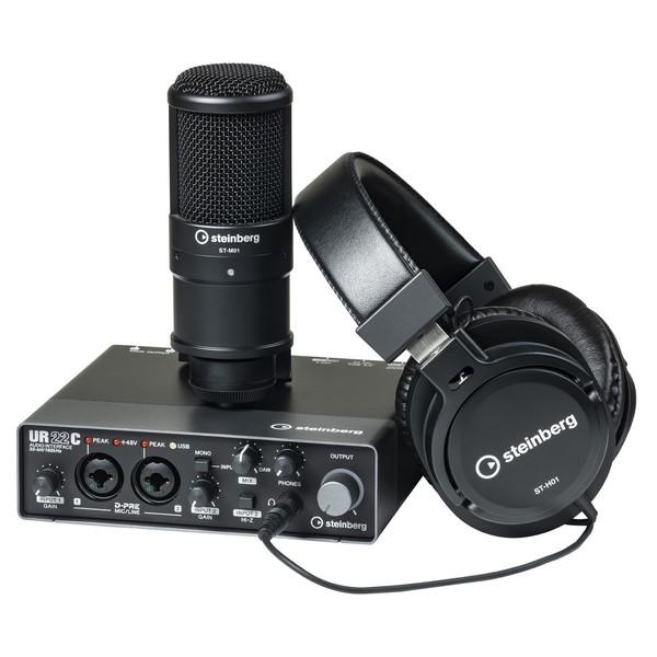 Steinberg UR22C Recording Pack - Main