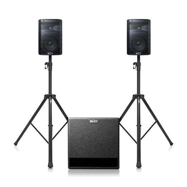 Alto TX208 and TX212S PA Speaker Bundle