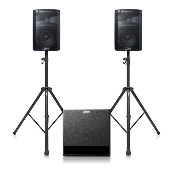 Alto TX212 and TX212S PA Speaker Bundle