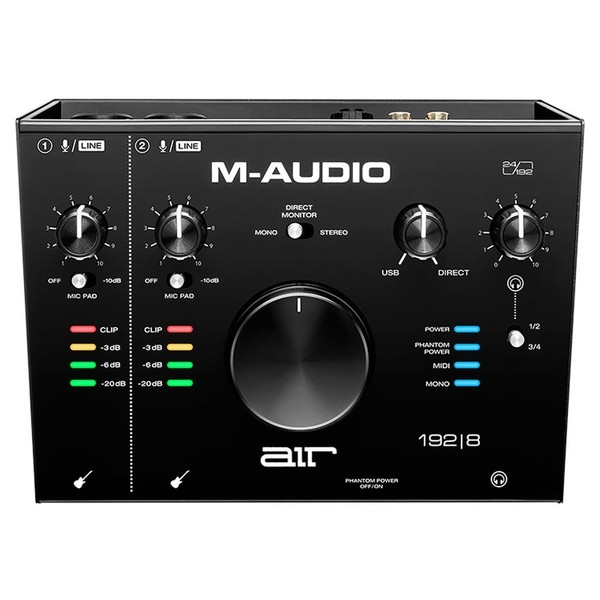 M-Audio AIR 192 8 top