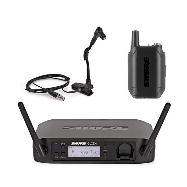 Shure GLXD14/B98 Digital Wireless Instrument Microphone System