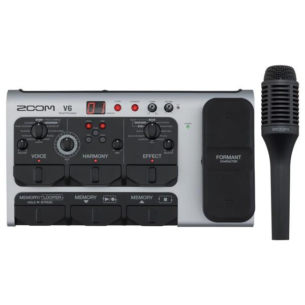 Zoom V6 Vocal Processor main