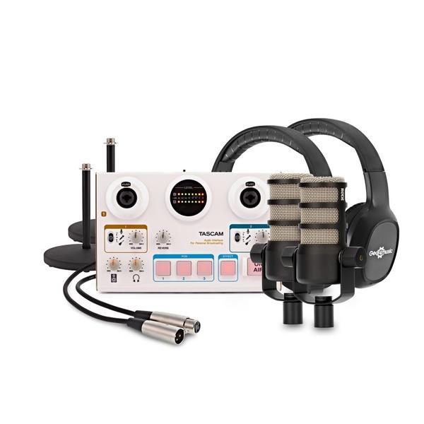 Tascam US-42 Podcasting Bundle - Full Bundle