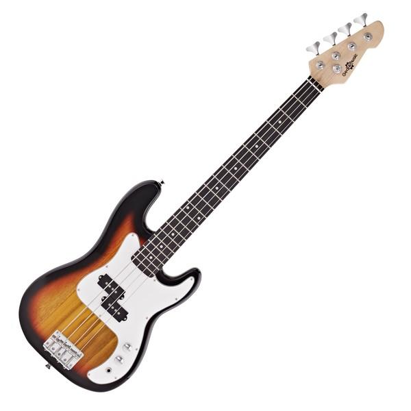 3/4 LA Bass Guitar by Gear4music, Sunburst