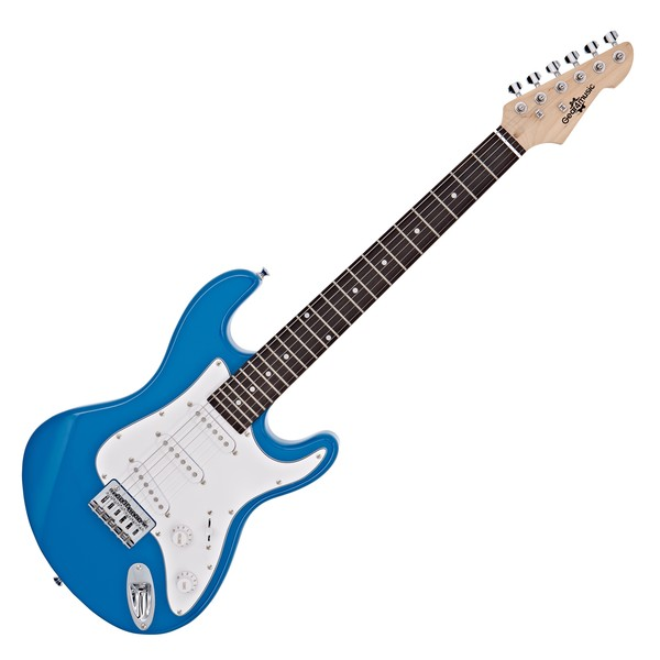 3/4 LA Electric Guitar by Gear4music, Blue