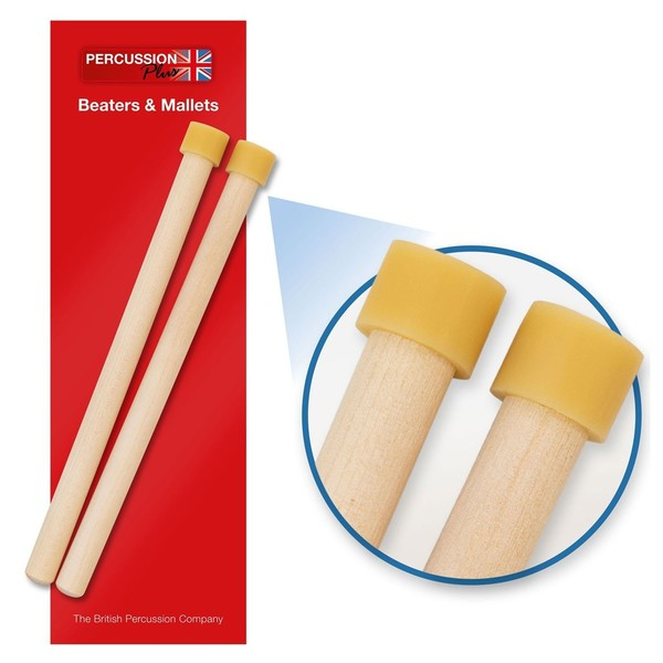 Percussion Plus Tenor Steel Pan Sticks