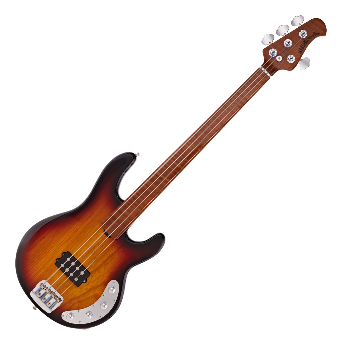 Click to view product details and reviews for Music Man Bfr Stingray Fretless Bass Vintage Sierra Sunburst.