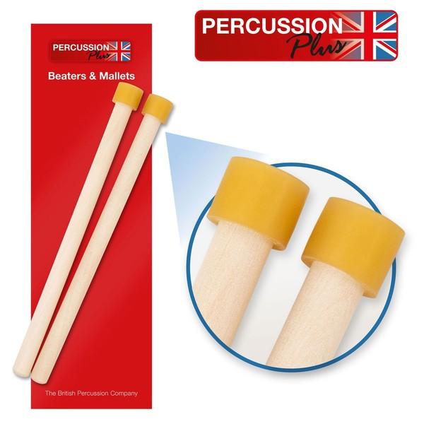 Percussion Plus Double Tenor Steel Pan Sticks