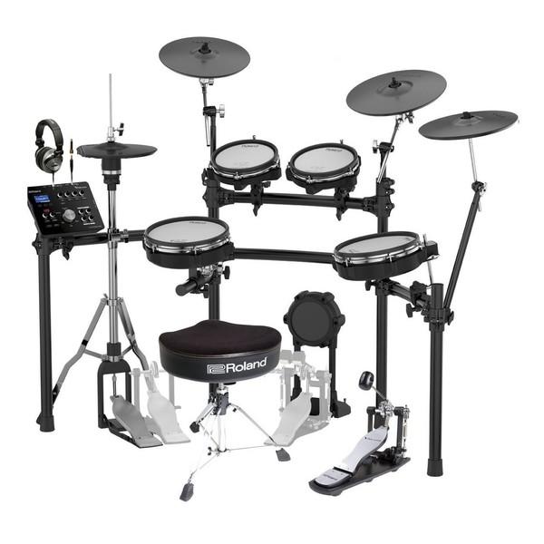 Roland TD-25KV V-Drums Premium Electronic Drum Kit Bundle