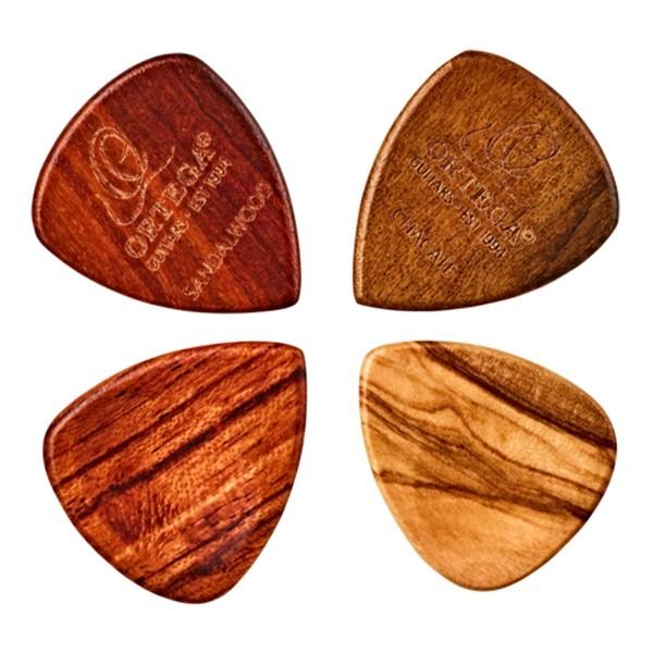 Ortega 2.5mm Curved Wooden Picks, Pack of 4 - Main