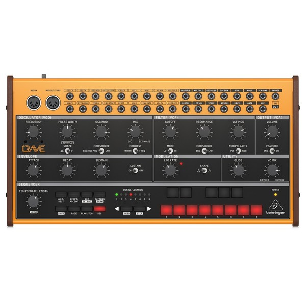 Behringer Crave Synthesizer - Top
