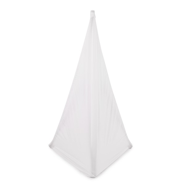 Speaker Stand Scrim Cover, White by Gear4music