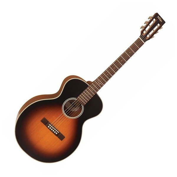 Vintage Historic Series VE880 Electro Acoustic Guitar - Front