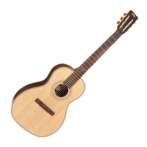 Vintage Paul Brett 6-String Signature electro acoustic guitar - Front