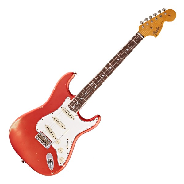 Fender Custom Shop 1967 Relic Strat, Super Faded Aged Candy Apple Red