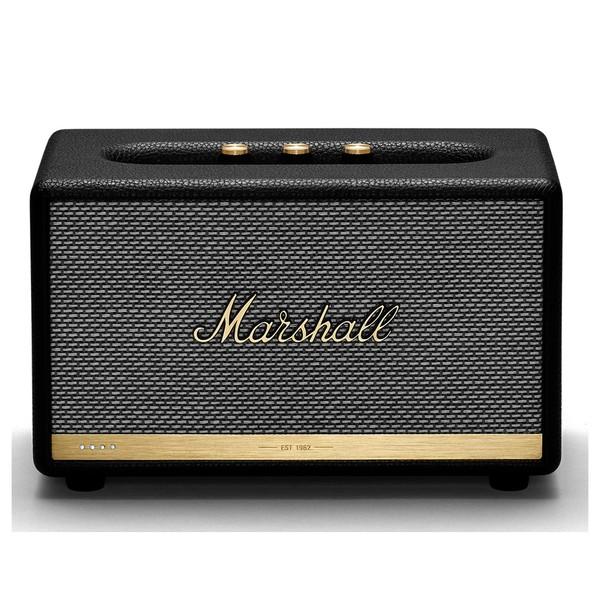 Marshall Acton II Voice Speaker w/ Google Assistant, Black
