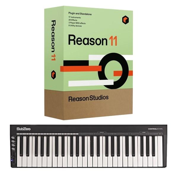 Reason 11 with SubZero CONTROLKEY49S - Full Bundle