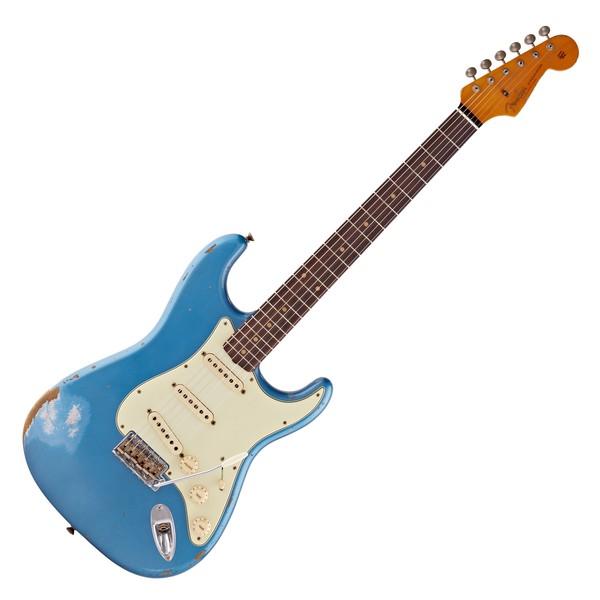 Fender Custom Shop 1959 Heavy Relic Strat RW, Aged Lake Placid Blue