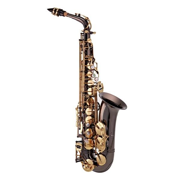 Trevor James SR Alto Saxophone, Black Lacquer with Gold Lacquer Keys